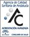 Acreditación de Calidad Avanzada expedida por la ACSA