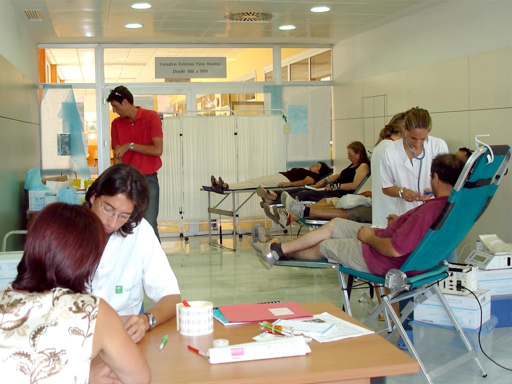 Resultado de imagen de Centro Regional de Transfusión Sanguínea