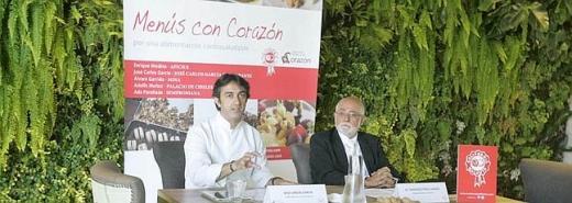 José Carlos García y Francisco Pérez-Lanzac en un momento de la presentación.