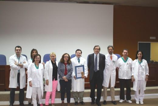 Profesionales de la UGC de Medicina Nuclear