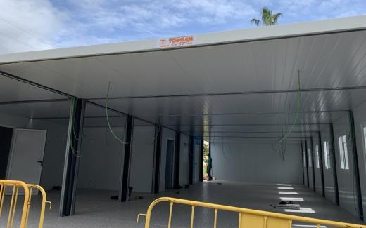 El Hospital Virgen de la Victoria amplia en 200 m2 el área de urgencias