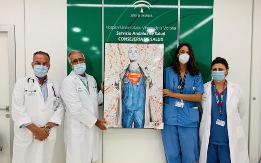 El servicio de Urgencias del Hospital Virgen de la Victoria recibe un cuadro