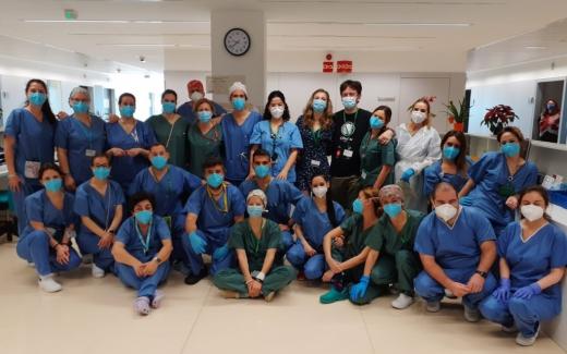 El Hospital Valle del Guadalhorce ha atendido a más de un millar de pacientes
