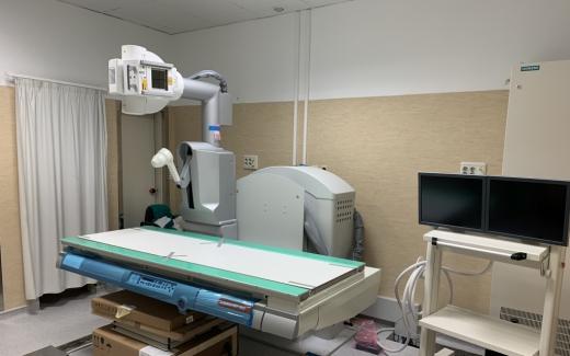 Nuevo telemando del hospital Universitario Virgen de la Victoria