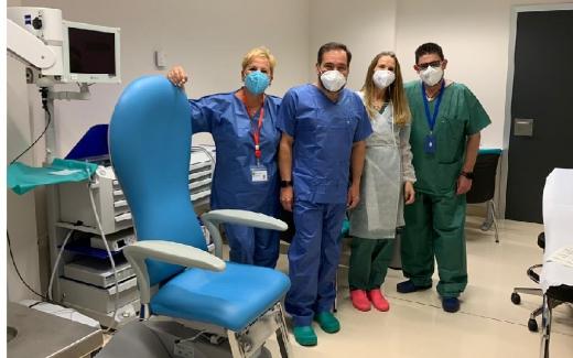 El Hospital Virgen de la Victoria aumenta su capacidad para la atención a pacien