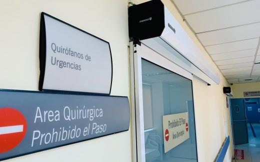 El Hospital Virgen de la Victoria mejora la accesibilidad y la seguridad