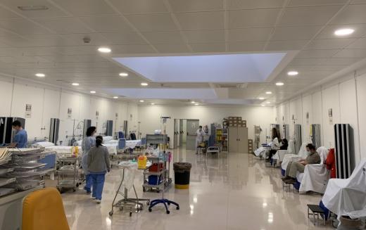 El Hospital Virgen de la Victoria traslada actividad de Hospital de Día