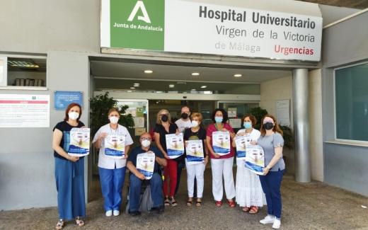 Representantes de asociaciones de pacientes crónicos visitan Urgencias
