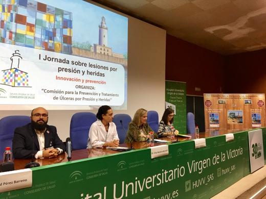 Los hospitales públicos de Málaga celebran la I Jornada sobre Lesiones por Presi