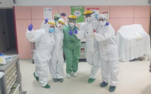 El Hospital Virgen de la Victoria celebra el Día Internacional de la Enfermería