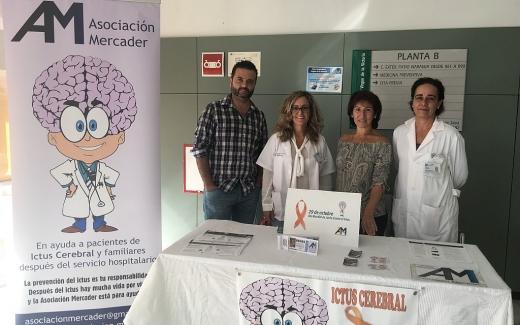 Celebración del Día Mundial del Ictus en el Hospital Virgen de la Victoria