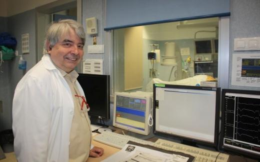 Javier Alzuela, especialista en Cardiología y director de la sección de Arritmia