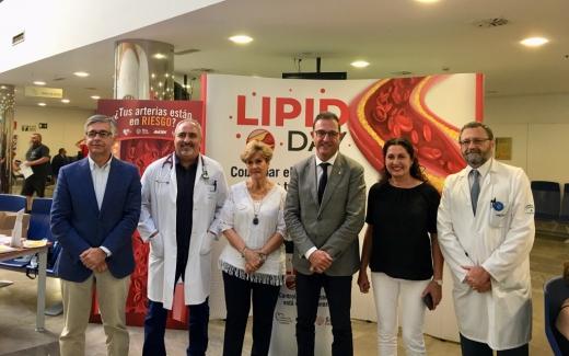 """El Hospital Virgen de la Victoria se suma a la campaña nacional """"Lipid Day"""""""
