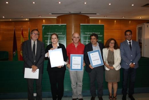 Entrega de acreditaciones por la Agencia de Calidad Sanitaria de Andalucía