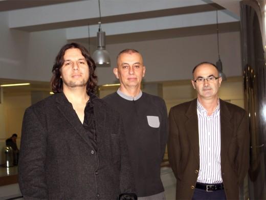 Allan Orozco, Javier Estebaranz y Jesús González han coordinado la organización