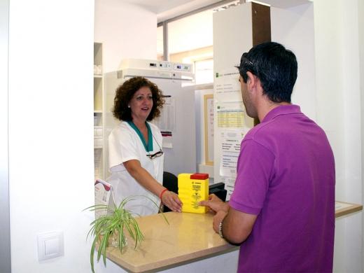 El nuevo área de dispensación de medicamentos para pacientes externos
