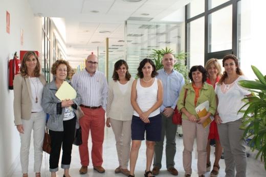 Integrantes del grupo multidisciplinar interniveles