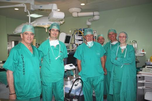 Expertos en Cirugía Cardiaca del Hospital Universitario