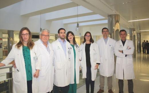 El Hospital Virgen de la Victoria supera los 400 procedimientos Cirugía Cardíaca