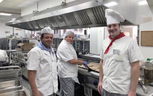 Finaliza la primera fase de actuaciones de mejora en la cocina del Hospital
