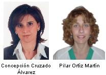 Concepción Cruzado Álvarez y Pilar Ortíz Martín