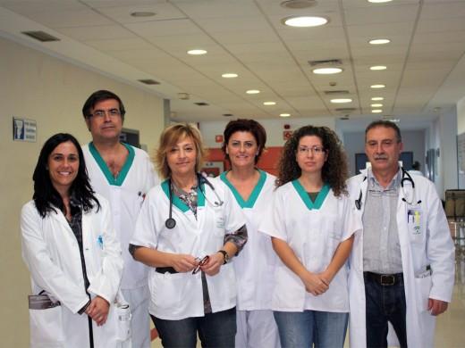 Algunos profesionales del comité organizador del Congreso Regional de Urgencias
