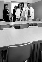 La Consejera de Salud visita los centros de Salud Mental