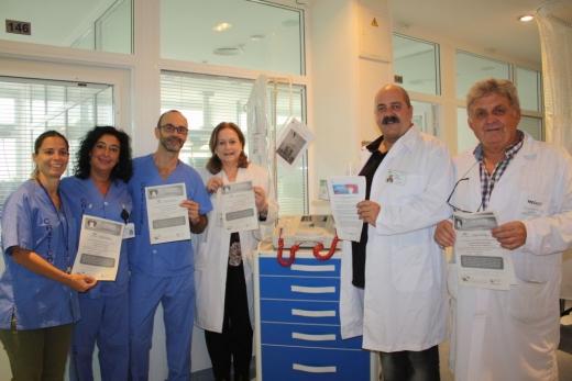 Profesionales de Cuidados Críticos en el Día Europeo del Paro Cardiaco