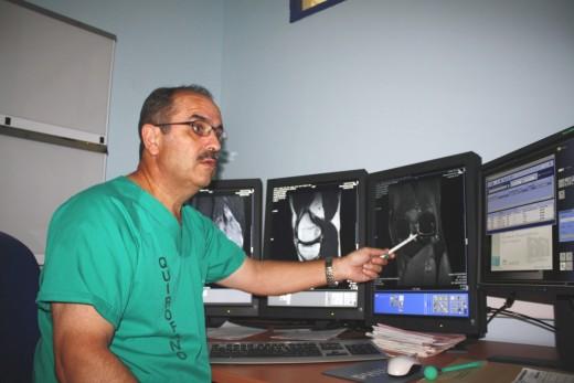 El Clínico es pionero en las operaciones de menisco