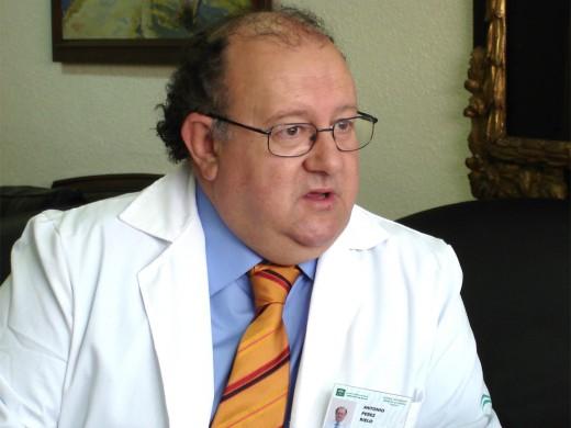 Antonio Pérez Rielo asegura que está muy a gusto en el Hospital Clínico