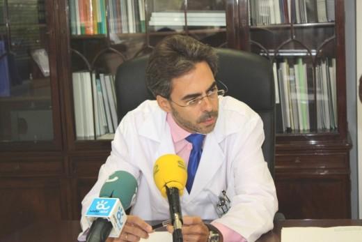Tomás Urda, proviene de la dirección del Hospital de San Juan de la Cruz (Úbeda)