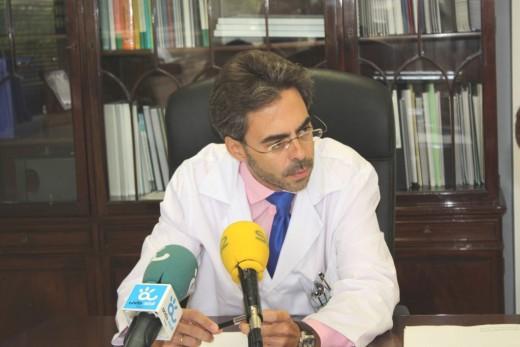 Tomás Urda, Gerente del Hospital Universitario Virgen de la Victoria