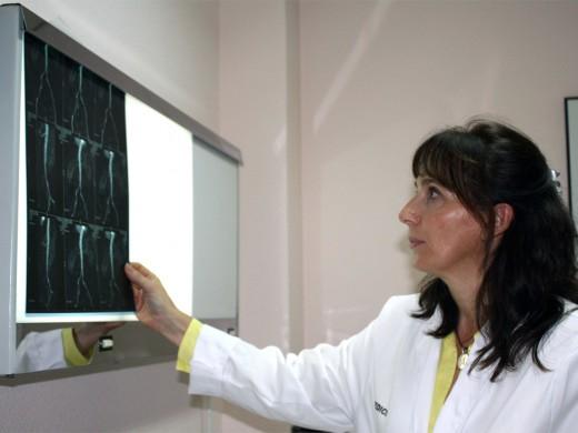 La especialista en Angiología y Cirugía Vascular del Hospital, Rocío Merino