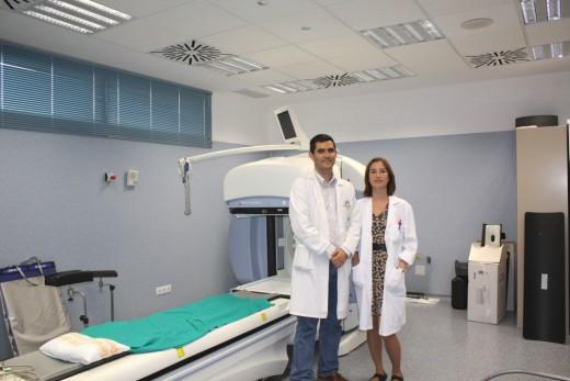 Alfonso Sánchez y Salomé Sanz, facultativos del Hospital