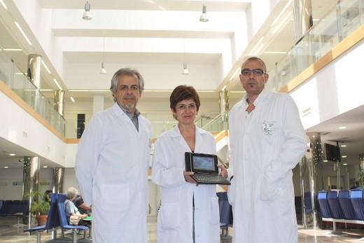 José del Rio, Carolina Conejo y Alfonso Martínez