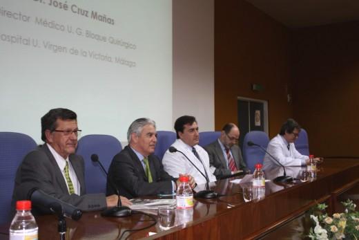 Eduardo Olalla, Miguel Such, José Cruz, Eduardo de Teresa y Juan José Gómez