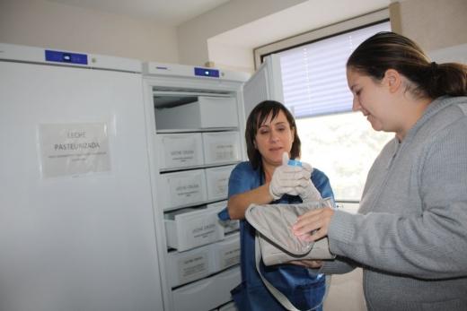 Paciente donante del Banco de Leche Materna