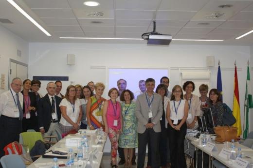 Participantes en el I Encuentro sobre Oncología e Innovación de Andalucía