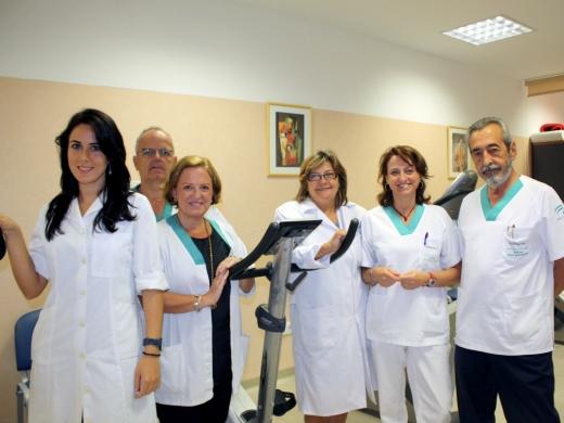 Componentes del equipo multidisciplinar de Fisioterapia Respiratoria