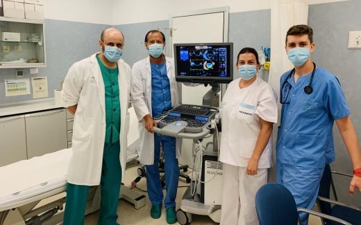 El área del Corazón del Hospital Virgen de la Victoria mejora la calidad