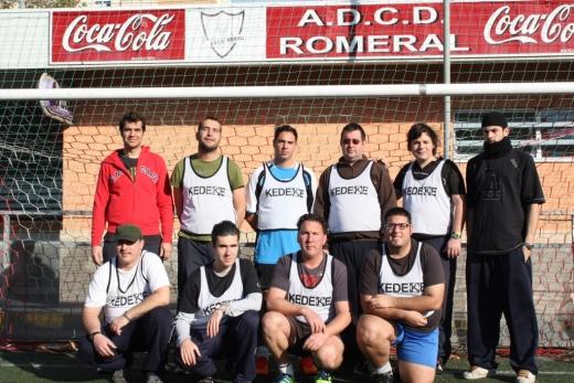 Equipo de fútbol del Hospital de Día de Salud Mental de El Consul