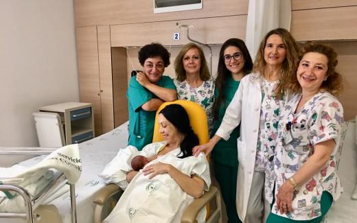 Maternidad del hospital Virgen de la Victoria