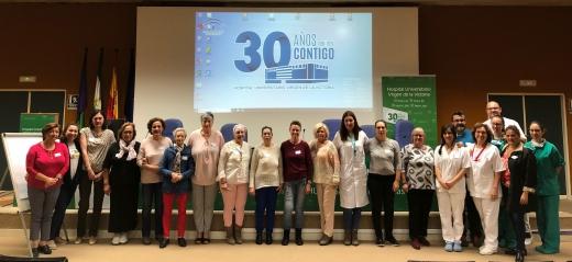 """Programa """"Educando en Salud"""" en el Hospital Virgen de la Victoria"""