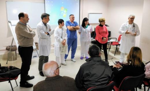 Pacientes programados para operarse de corazón