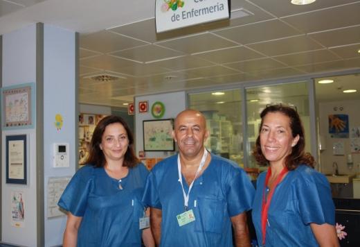Eva Mingorance, Jose Miguel Garcia y Cristina Arcos