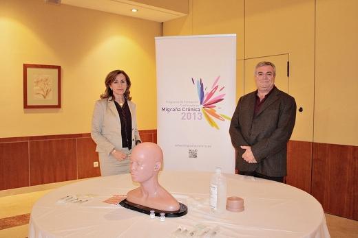 Los especialistas en Neurología Carmen María Jurado Cobo y José Antonio Heras Pé