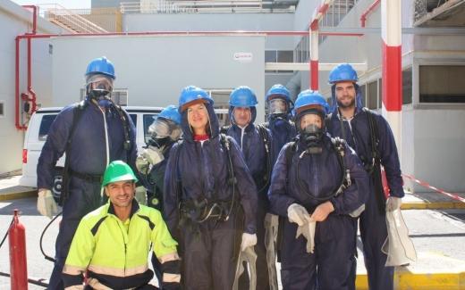 Trabajadores del Hospital Virgen de La Victoria reciben formación especializada