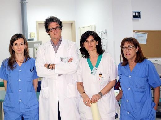 Gloria Millán, Juan José Gómez Doblas, Concepción Cruzado y Consuelo Galacho