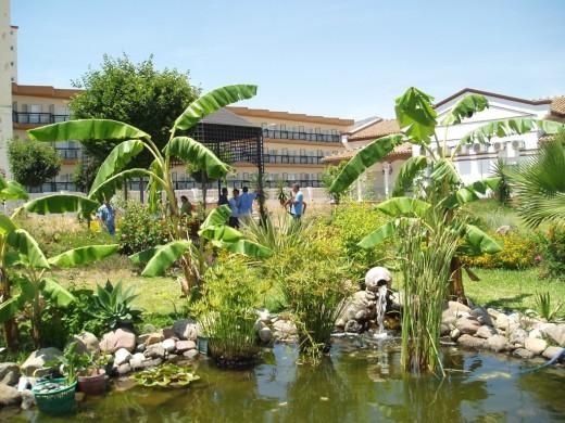 Jardines del Hospital Marítimo de Torremolinos