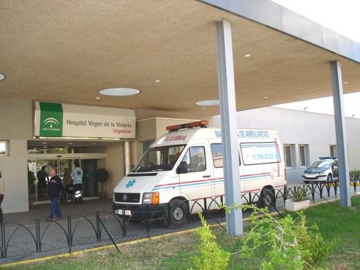 Urgencias del Hospital Universitario Virgen de la Victoria